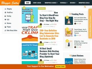 Bloggersutra - Free WordPress Guide,  Blogging,  SEO & Money Making