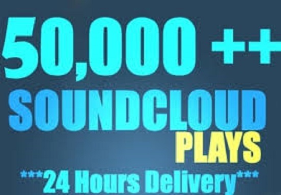 Get 50k+ Soundcloud Plays + 100 Likes + 50 repost