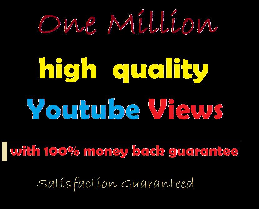 Buy 500k Non-Drop You tube Views