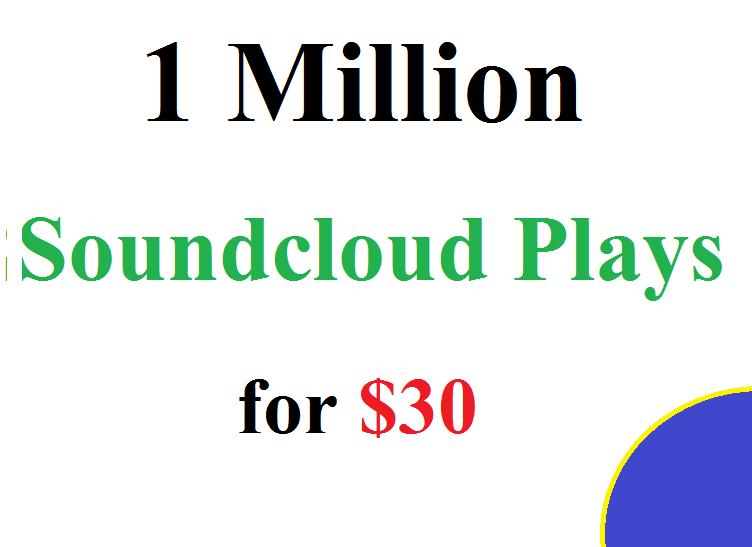 Buy 6 Million Soundcloud Plays