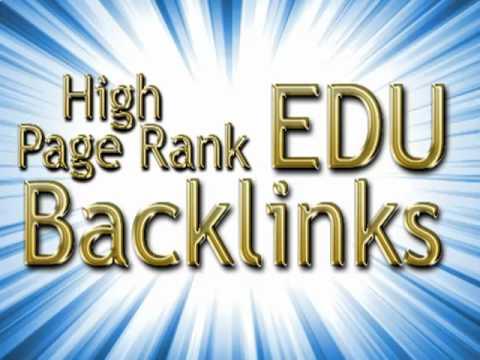 Provide 25 PR1 to PR4 actual page EDU backlinks through Blog comments