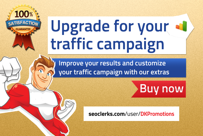 Upgrade your traffic campaign for amazing results
