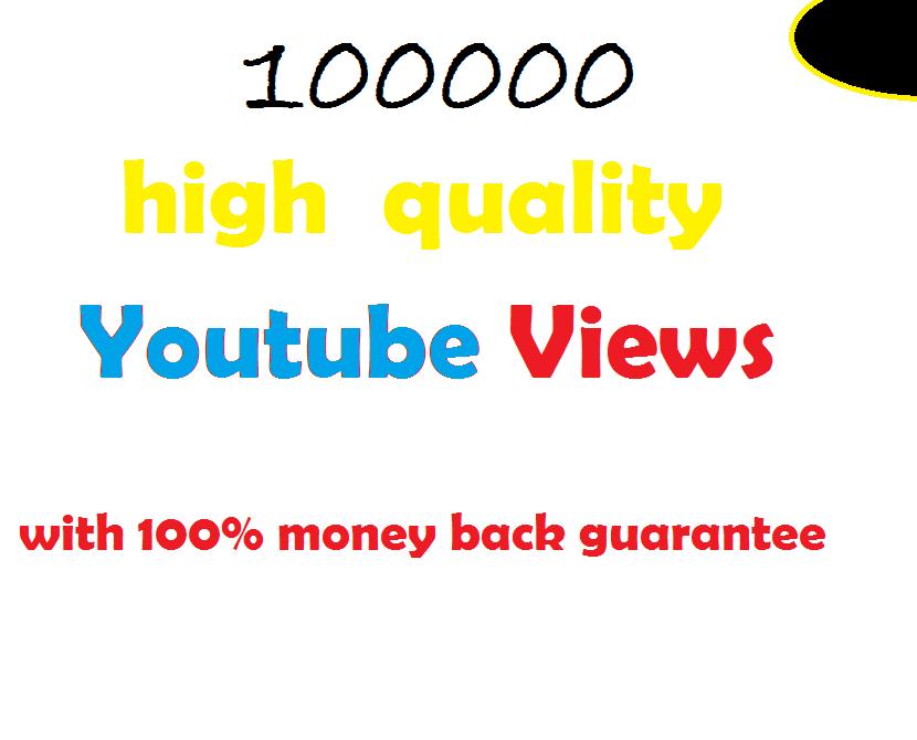 100k guaranteed non-drop views in 72 hours