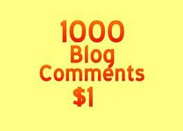 create 1000 Backlinks for Any Website using blog comm...