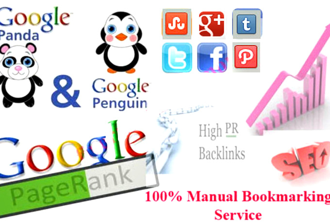 I will give 135 plus Backlink High Pr Social Bookmarking site