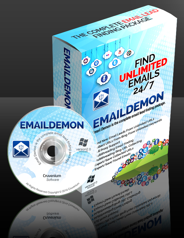 Email Demon - Discover Unlimited Emails Leads With Ease - 30 Day Money Back Guarantee