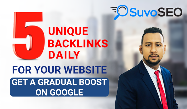 DAILY 5 AGGRESSIVE UNIQUE Domain High DA BACKLINKS AND 5 COMMENT BACKLINKS!! (30 Days)