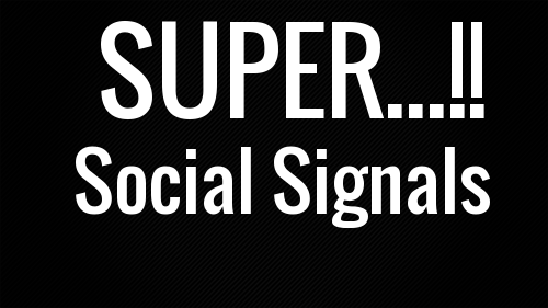 1000 Powerful SOCIAL SIGNALS,  SEO POWER
