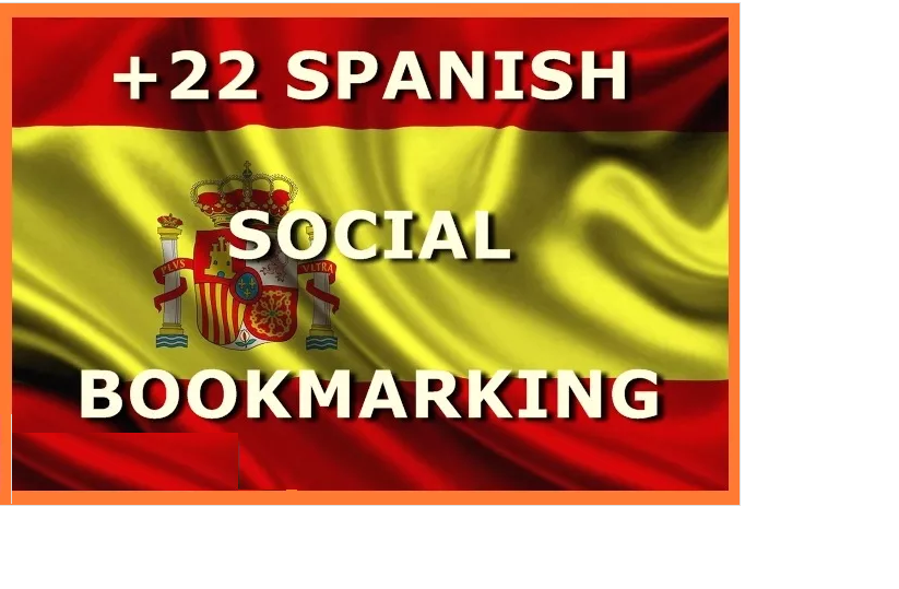 submit URL to 22 Spanish Social Bookmarking Sites with huge Bonus