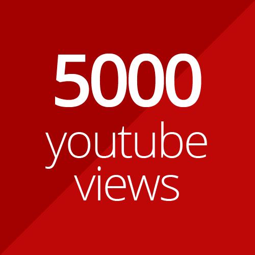 5000 high quality YouTube views