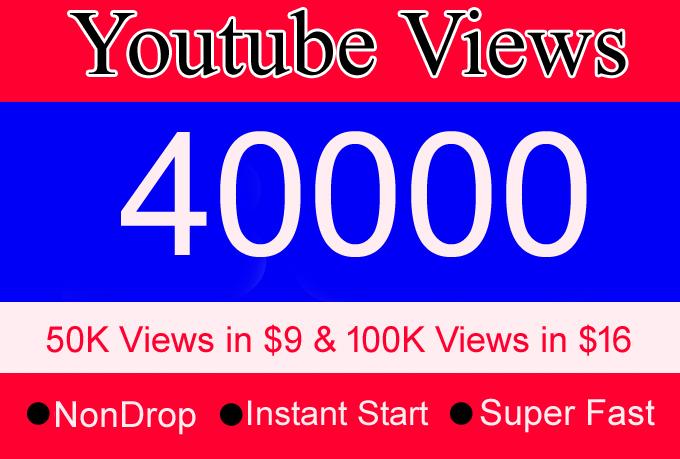 40000 youtube views 40k youtube views