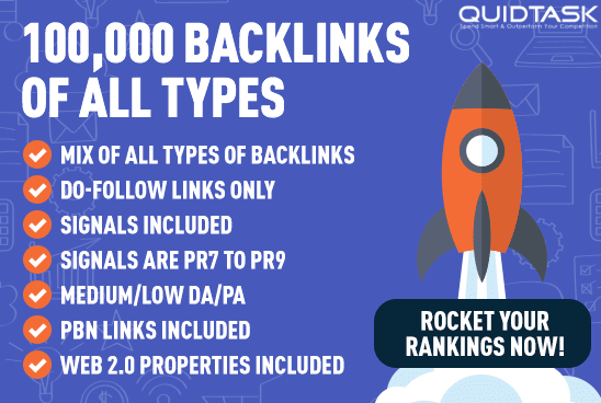 Rank on 1st PAGE 100,000 Signals,  Backlinks,  Video Creation - Top Social Networks and PBN of Highest Quality and Authority Used including Traffic Analytics,  Groups Promotion and detailed report