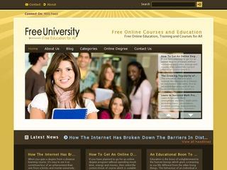 Guest Post on University / Education Blog Sponsored Blog Review