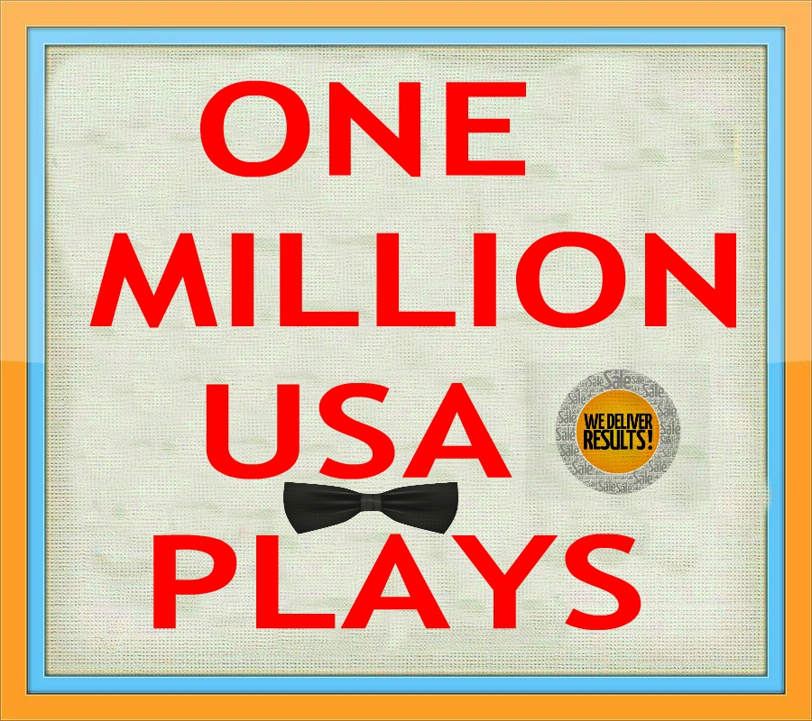 1 MILLION USA NON DROP PLAY PROMOTION IN 6 DAYS ONLY