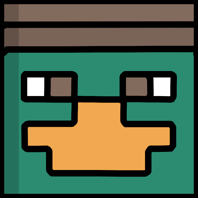 I will make a drawing of your Minecraft character's head