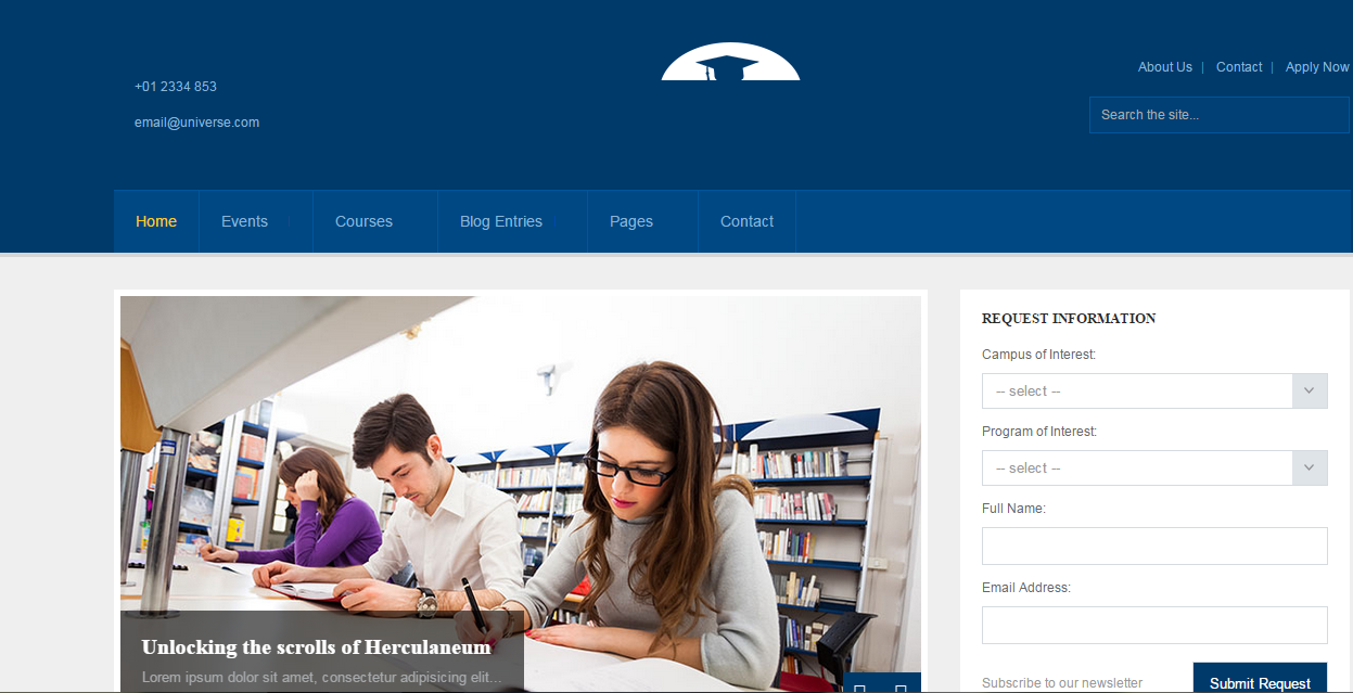 Html responsive Website Design