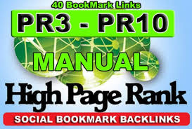 Top PR Dofollow 40 Social bookmarking 2018 with Drip Feed
