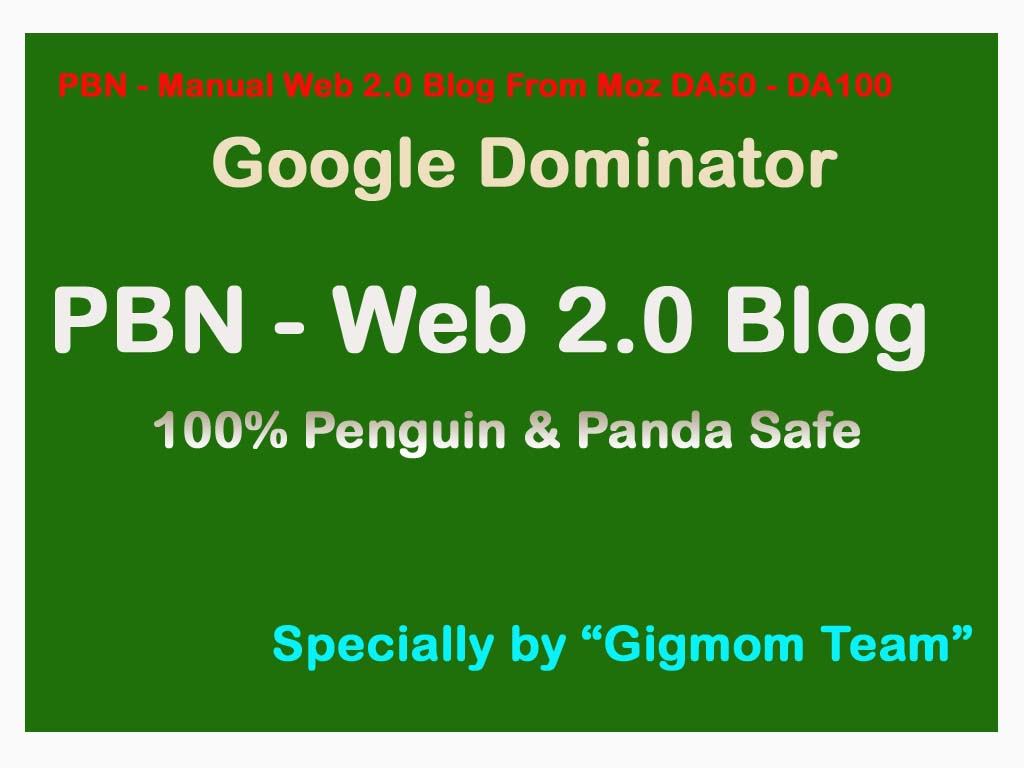 PBNs - Safe and Organic 30 Private Blog Network Links - DA60-DA100