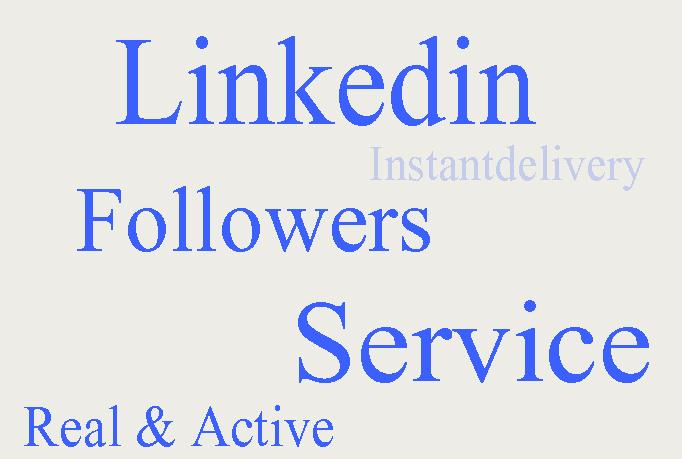I gave you 55 Linkedin Share or Linkedin Followers Only