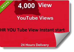 Start instant 6000+ HR YouTube Life time Video Views within 48 hours