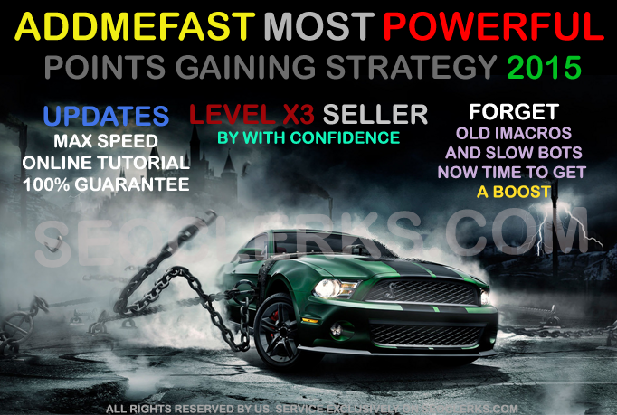 Addmefast points powerful Points gaining strategy ( Rankings Methods included )
