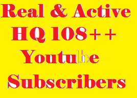 Super  Fast  123+ YouTube subscribers From USA, UK, GERMANY, SPAIN, ITALY, FRANCE And ENGLISH For