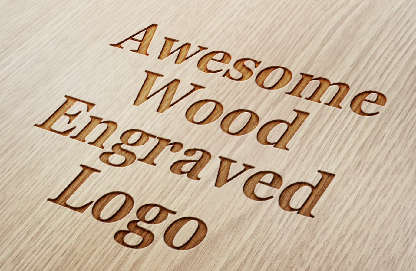 Convert Your Logo to a Wood Engraved Design