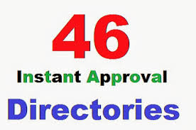 i will give you 50 Instant approve Directory Submission