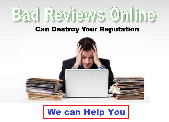 Online Reputation Management to remove Bad Reviews