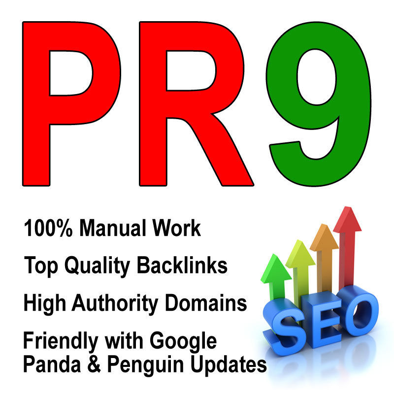 create 80 Real High Pr Contexual BACKLINKS,  Dofollow PR8,  PR9,  Authority,  Anchor,  Seo