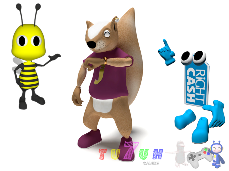 Create 3D character