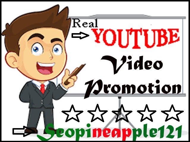 Fastly Organic Youtube Video Marketing Promotion