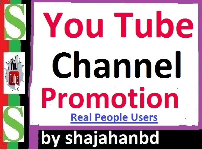 Manually Add Channel Promotion Via Real User