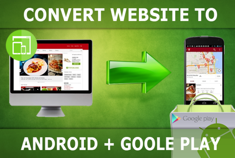 i will convert your website to an android app