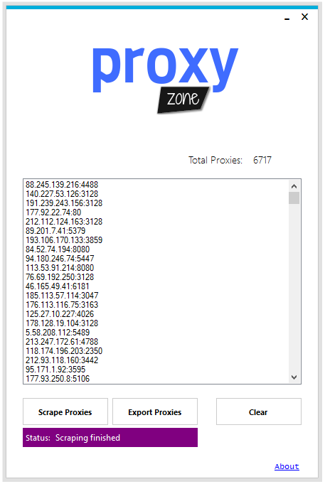 Proxy Zone - Unlimited Proxies for your Needs