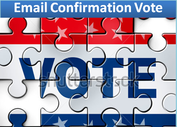 I will give you 100 email confirmation vote