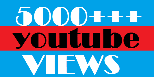 5000++ HR Fast Real Human YouTube Viewers 70%+ Retention up to 1 Hrs ! & 200 likes.