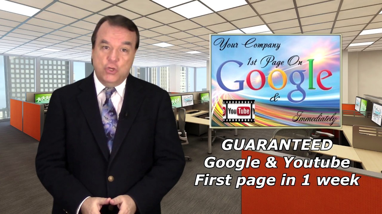 I Will Rank Your Website On Google Page One