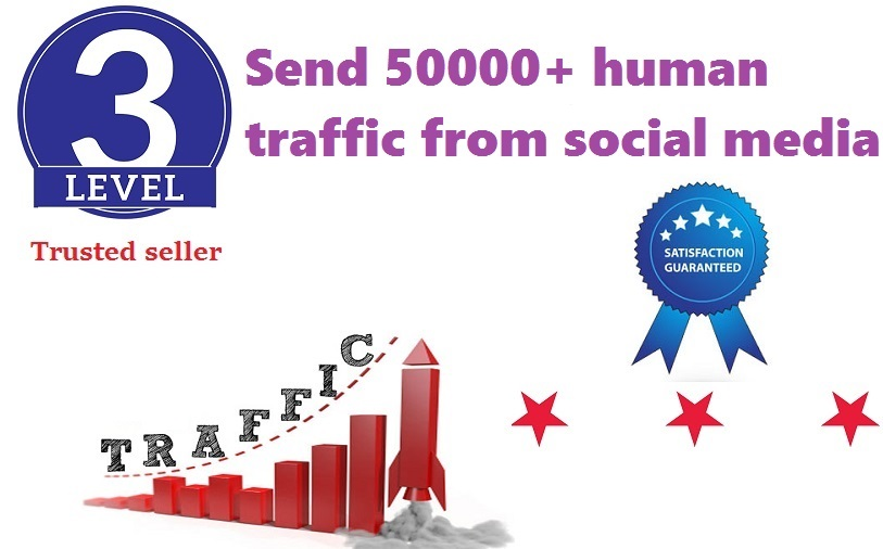 Send 50000+ Human Traffic by Google Yahoo etc
