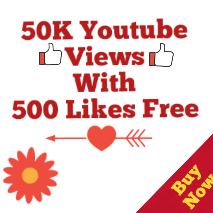 Safe 50k Youtube Vie ws 500 Lik es Free  No Drop Youtube Vie ws