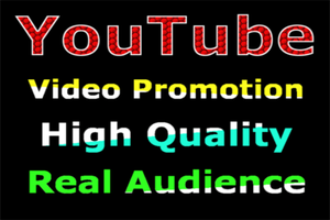 Views Or Likes Or Comments Video Promotion Via Real People User