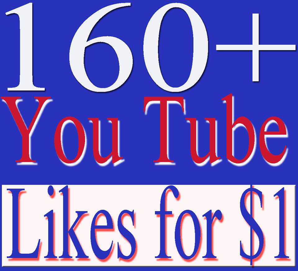 I will give you 160+ youtube likes