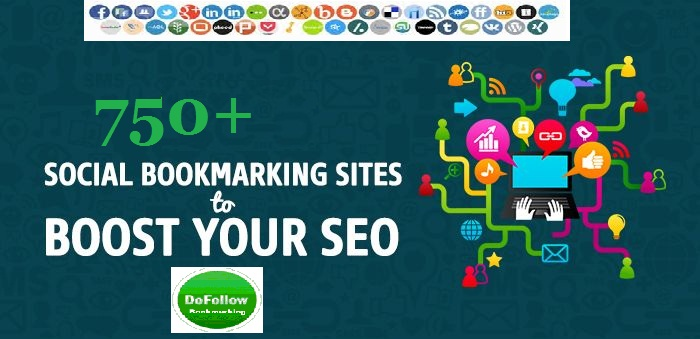 High Quality Backlinks Create 750+ Social Bookmarks Links
