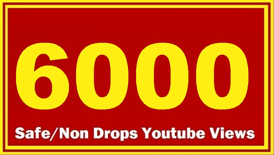 1500 HQ Safe YouTube Views Super Fast delivery