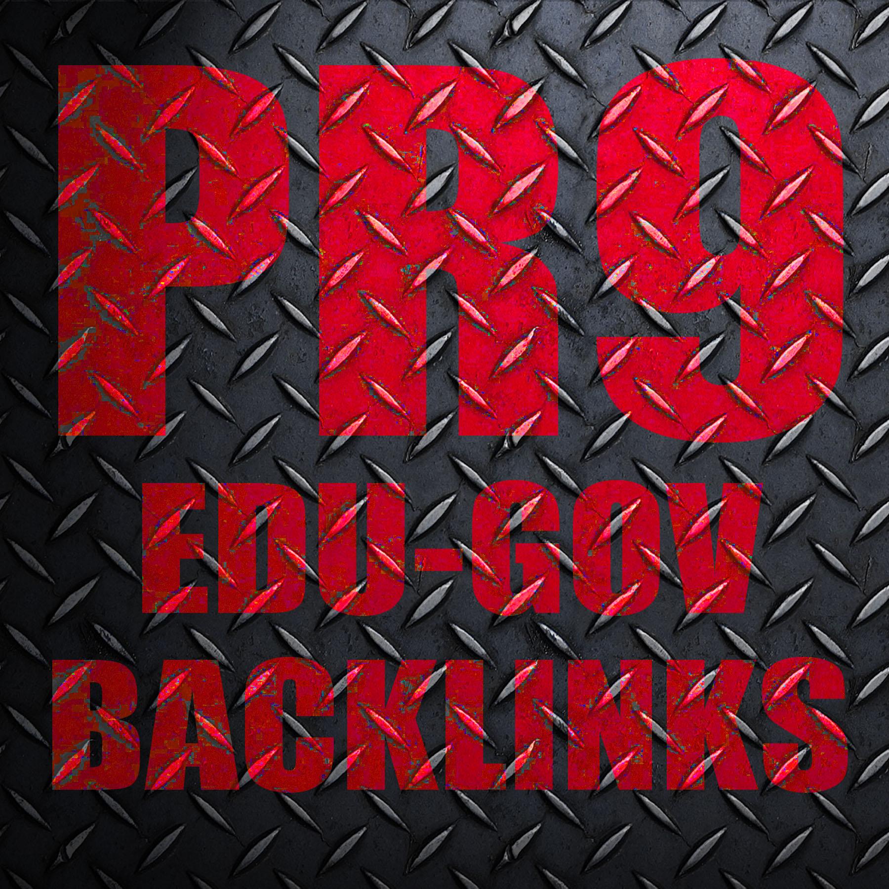 Manually 20 PR9 + 50 PR9/5 Edu & Gov Backlinks: Eyes of Google