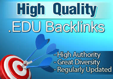 Manually I will create 60 PR5/9 Contextual Edu Backlinks