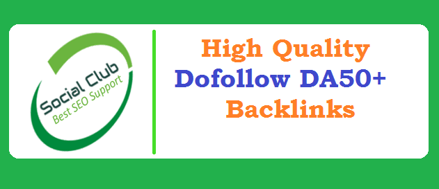 25 High Quality Dofollow Backlinks From DA50+ Google Friendly Websites