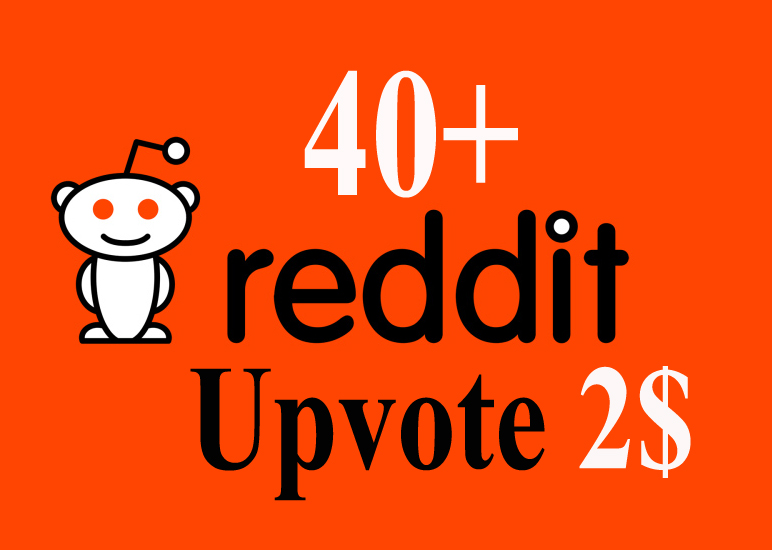 Give You 40+ Reddit real Upvotes