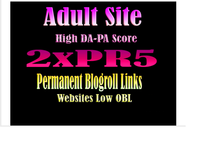 give permanent link blogroll 2xPR5 Adult site