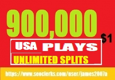900,000 USA PLAYS BEST QUALITY NON DROP DOLLAR ONE